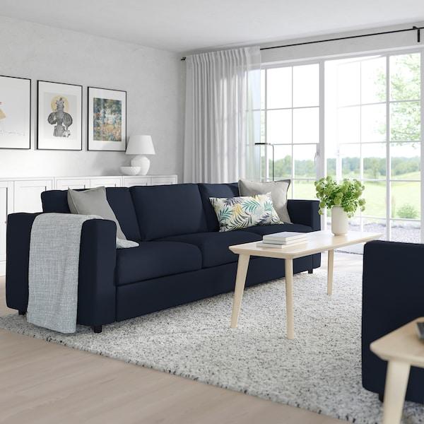 Finnala Sofa Orrsta Black Blue Ikea