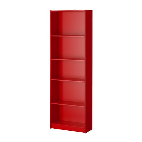 finnby bookcase red ikea. Black Bedroom Furniture Sets. Home Design Ideas