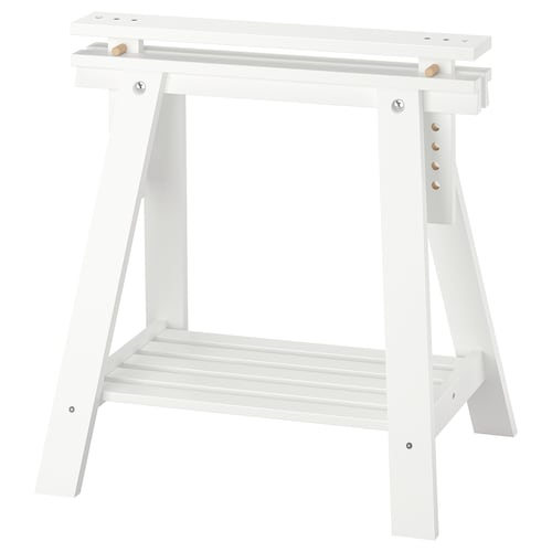 IKEA FINNVARD Trestle with shelf
