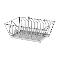 FINTORP dish drainer, nickel plated