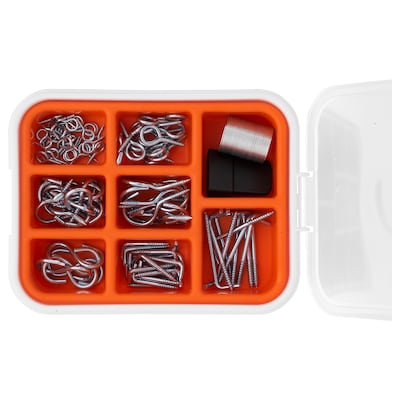 FIXA 102-piece hook and hanging set