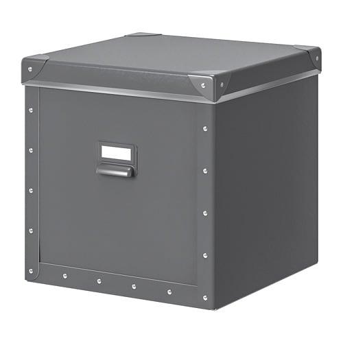 FJÄLLA Storage box with lid - IKEA
