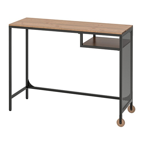 Incredible Fjallbo Laptop Table Black Home Remodeling Inspirations Cosmcuboardxyz