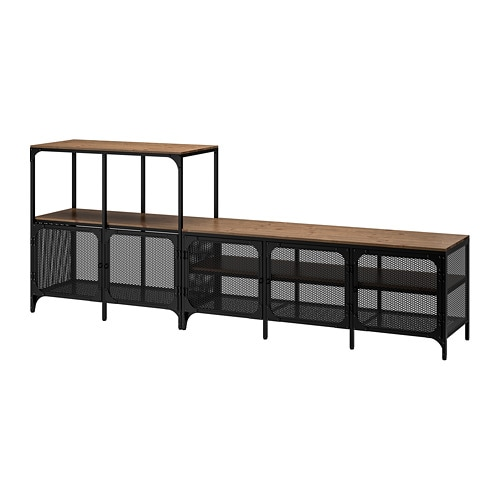 Fj llbo tv storage combination ikea for Center mobili outlet