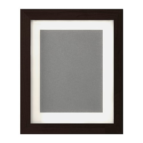 FJÄLLSTA Frame IKEA The mat enhances the picture and makes framing easy.  PH-neutral mat; will not discolor the picture.