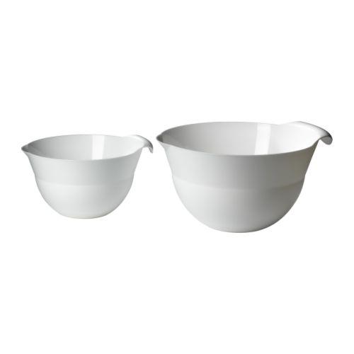 fl ckig mixing bowl set of 2 ikea. Black Bedroom Furniture Sets. Home Design Ideas