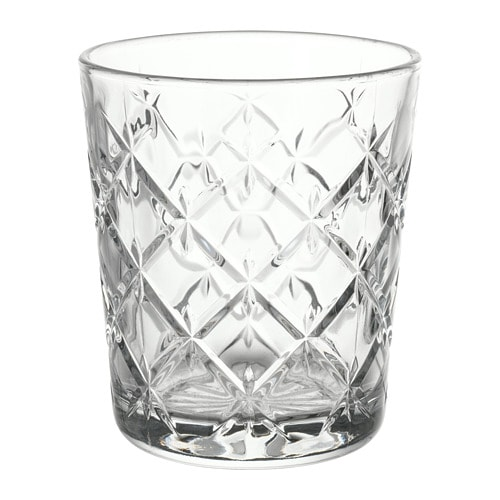 All In Glas.Flimra Glass Clear Glass Patterned