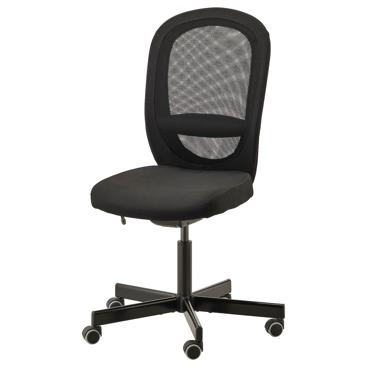 Flintan Office Chair Vissle Black Ikea