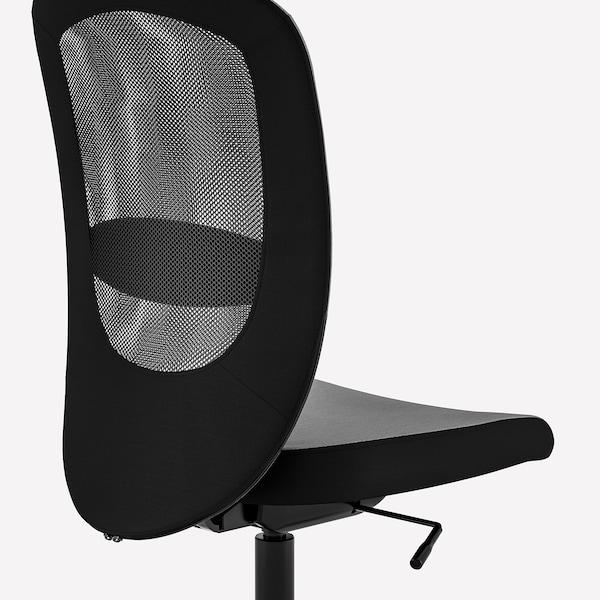"FLINTAN office chair Vissle gray 242 lb 8 oz 29 1/8 "" 27 1/8 "" 40 1/8 "" 44 7/8 "" 18 1/2 "" 18 7/8 "" 18 1/2 "" 23 5/8 """