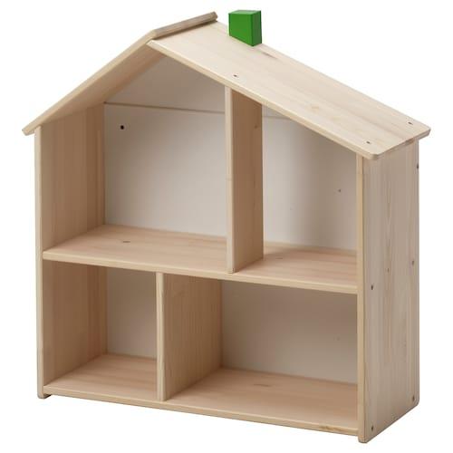 "FLISAT doll house/wall shelf 22 ¾ "" 8 ¾ "" 23 ¼ """