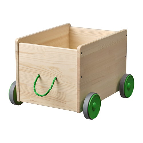 Flisat Toy Storage With Casters