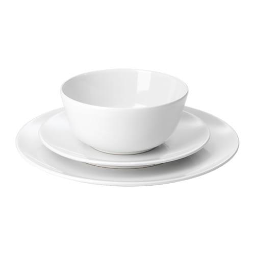 FLITIGHET 18-piece dinnerware set  sc 1 st  Ikea & FLITIGHET 18-piece dinnerware set - IKEA