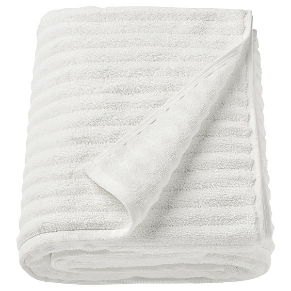 "FLODALEN bath sheet white 59 "" 39 "" 16.15 sq feet 2.29 oz/sq ft"
