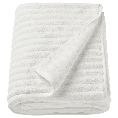 FLODALEN Bath sheet, white, 39x59 ""