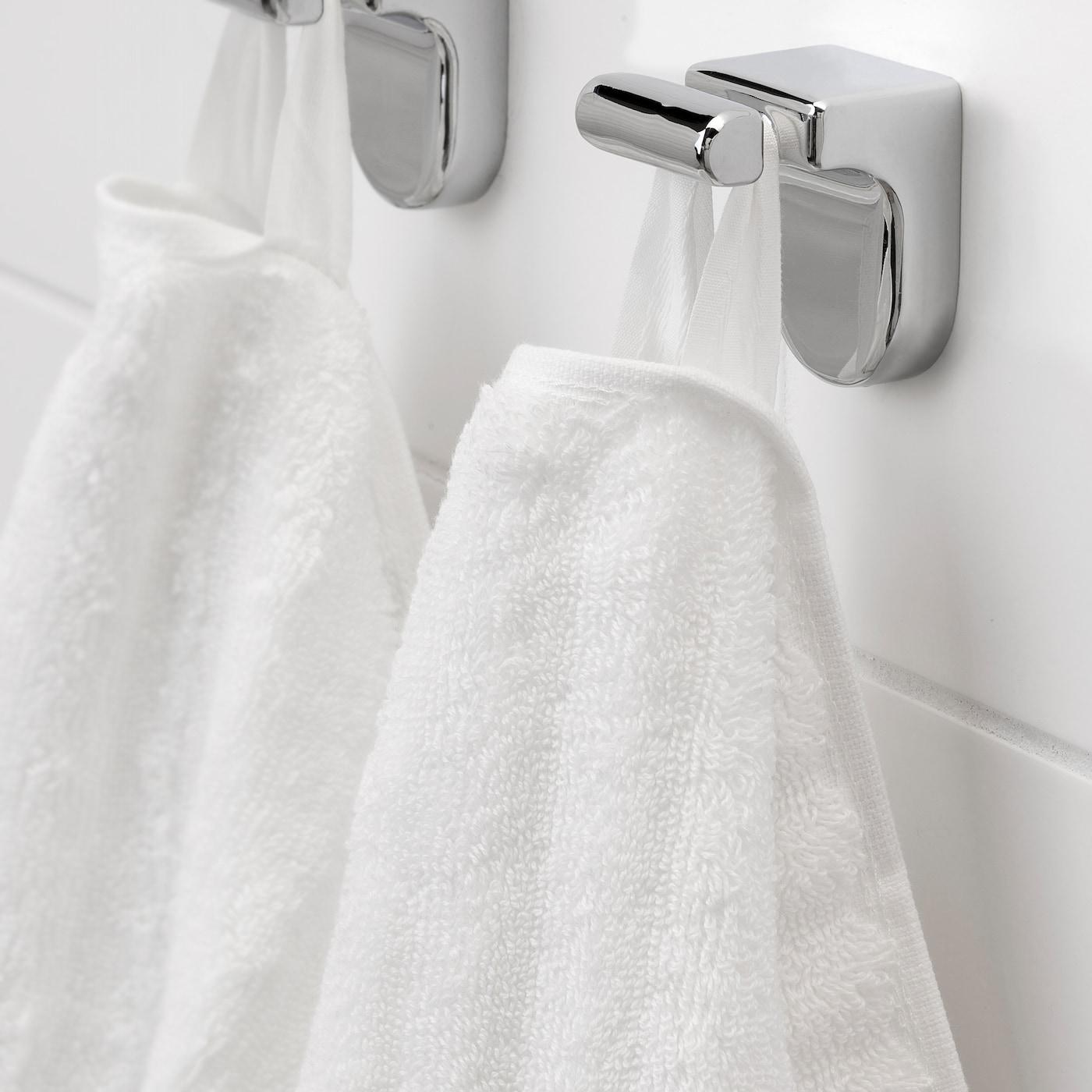 Flodalen Bath Sheet White 39x59 Ikea