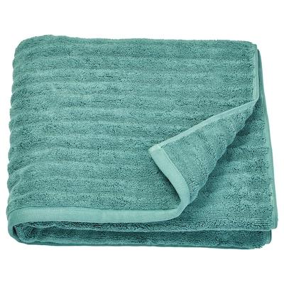 "FLODALEN bath towel blue/green 2.29 oz/sq ft 55 "" 28 "" 10.55 sq feet"