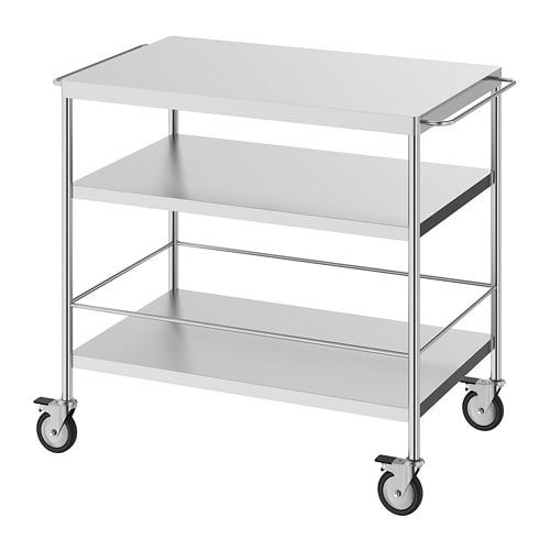 Flytta Kitchen Cart Stainless Steel