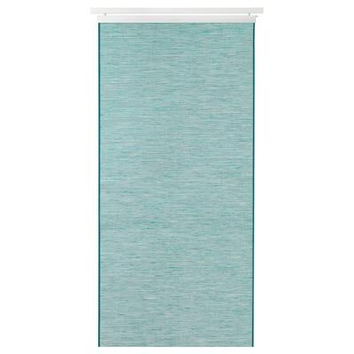 """FÖNSTERVIVA Panel curtain, green, 24x118 """""""