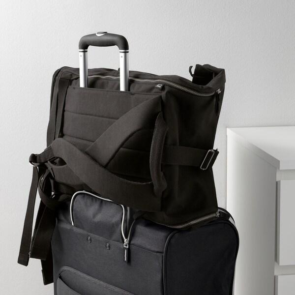 """FÖRENKLA backpack black 12 ¼ """" 7 ¾ """" 22 """" 9 gallon"""