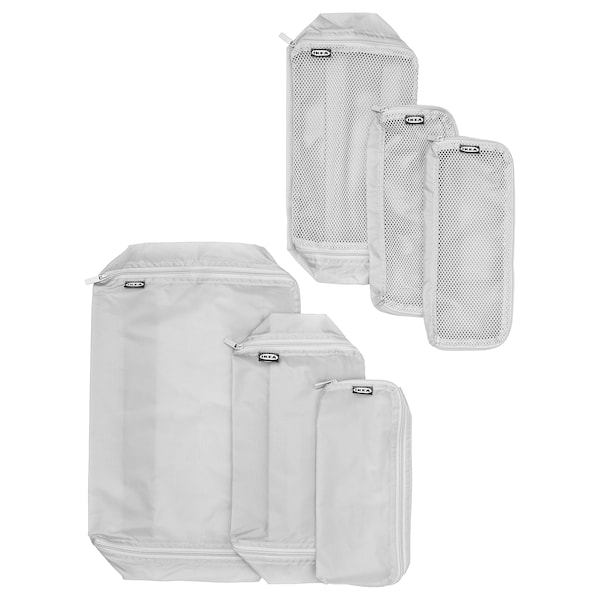 IKEA FÖRFINA Travel bags, set of 6