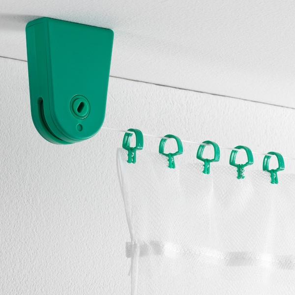 "FÖRSYNT curtain wire green 78 ¾ "" 4 lb"