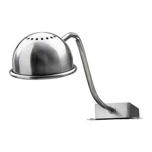 FORMAT LED cabinet light, nickel plated nickel plated -