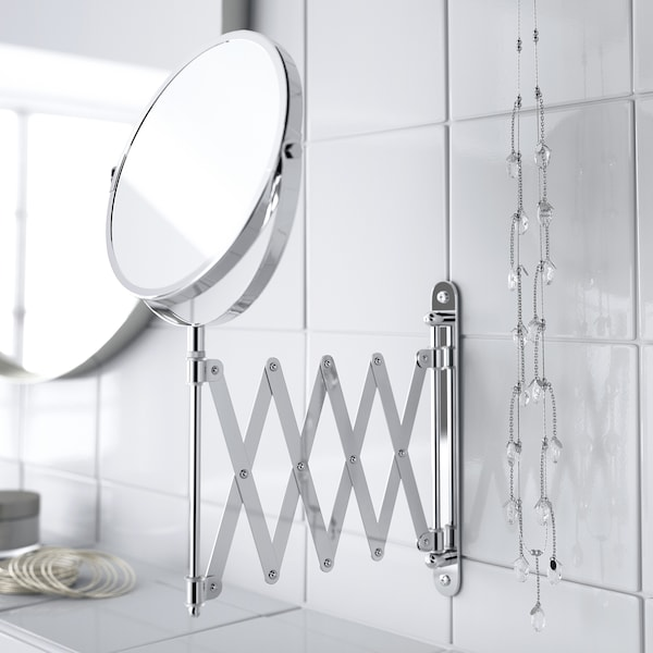 FRÄCK Mirror, stainless steel
