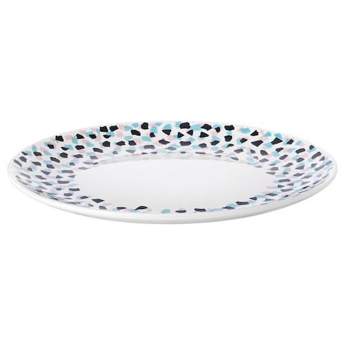 """FRAMKALLA plate patterned 10 ¾ """""""