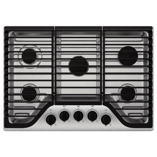 IKEA FRAMTID 5 burner gas cooktop