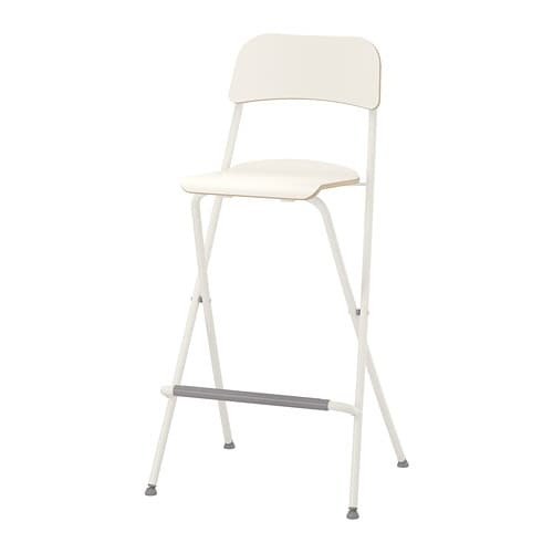 Franklin Bar Stool With Backrest Foldable