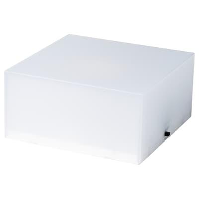 """FREKVENS speaker base with light white 4 """" 4 """" 2 """""""