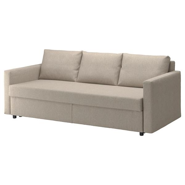 Tremendous Sleeper Sofa Friheten Hyllie Beige Andrewgaddart Wooden Chair Designs For Living Room Andrewgaddartcom