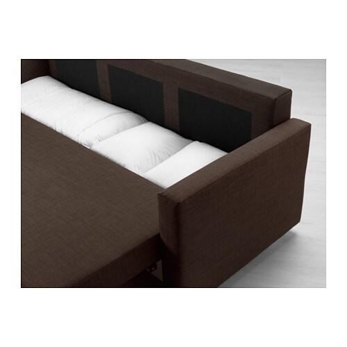 FRIHETEN Sleeper sofa Skiftebo beige IKEA