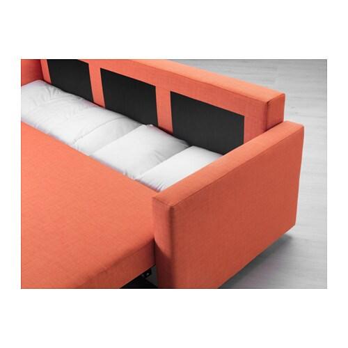 - FRIHETEN Sleeper Sofa - Skiftebo Dark Orange - IKEA