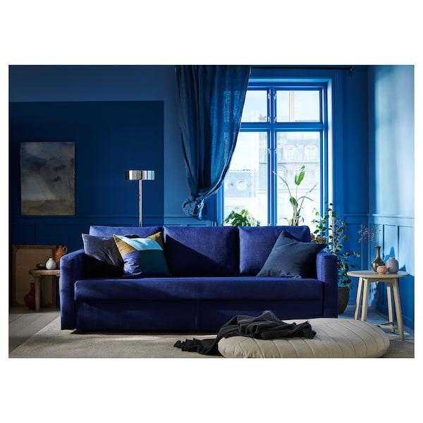 FRIHETEN Sleeper sofa, Skiftebo blue