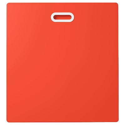 FRITIDS Drawer front, red, 23 5/8x25 1/4 ""