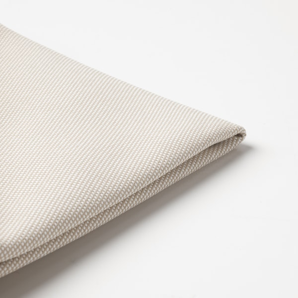 """FRÖSÖN cover for chair pad outdoor beige 13 3/4 """""""