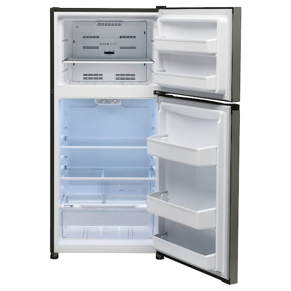 FRYSBAR Top-freezer refrigerator, Stainless steel, 13.9 cu.ft