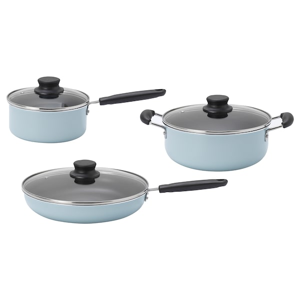IKEA FRYSER 6-piece cookware set
