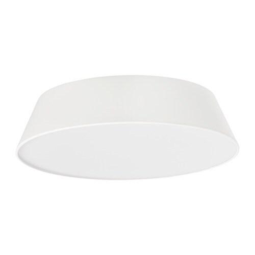 FUBBLA LED ceiling lamp, white white -