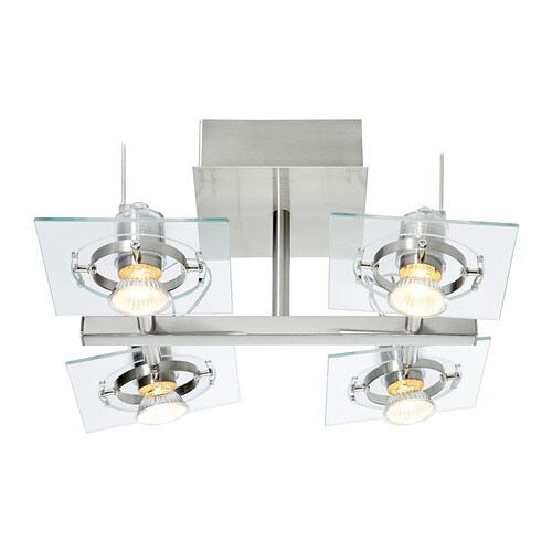 Fuga Ceiling Spotlight With 4 Spots Ikea