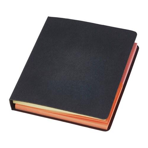FULLFÖLJA Folder with sticky notes
