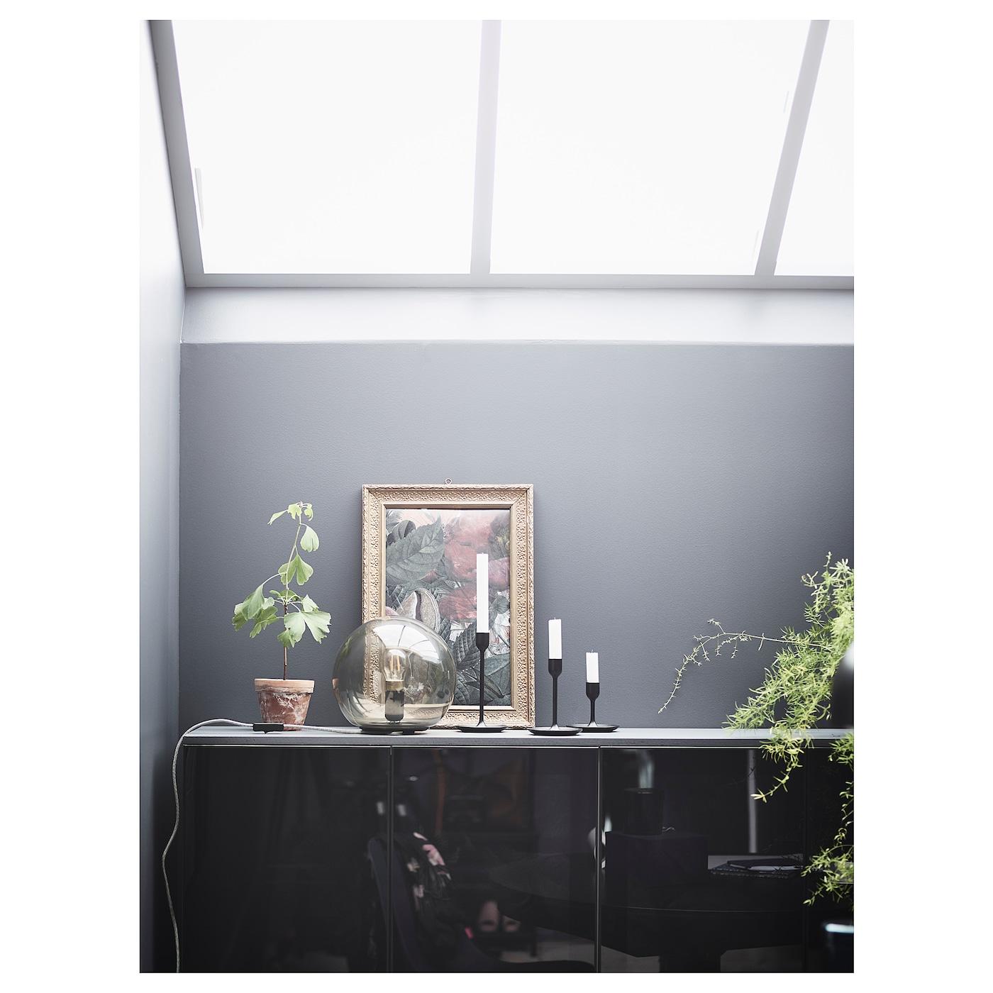 Picture of: Fulltalig Candlestick Set Of 3 Black Ikea