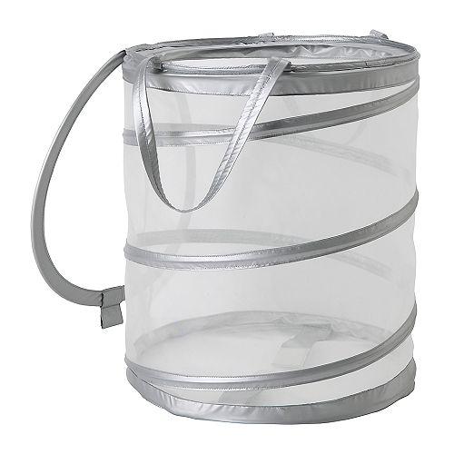 FYLLEN Laundry basket, gray gray 21 gallon