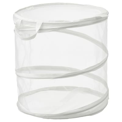 FYLLEN Laundry basket, white, 21 gallon