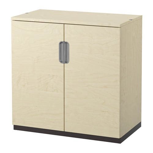 Ikea Galant galant cabinet with doors birch veneer ikea