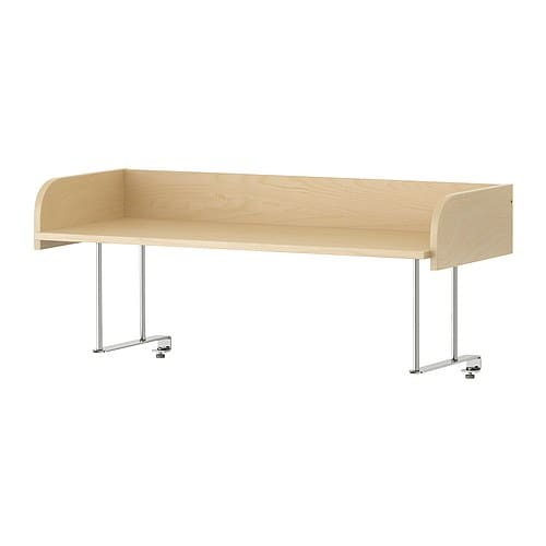 GALANT Desk top shelf IKEA Attaches to GALANT table tops for easy access storage that frees table space.