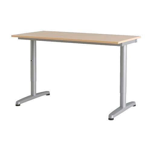 GALANT Desk IKEA 10-year Limited Warranty.   Read about the terms in the Limited Warranty brochure.  Tested and approved for office use.