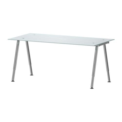 Home office furniture ikea - Glass office desk ikea ...