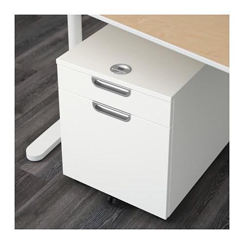 GALANT Drawer Unit/drop File Storage   Black Brown   IKEA